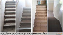 Pokládka dlažby panelák - Stavebná firma Brezno