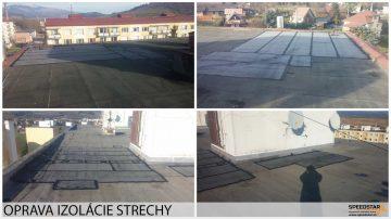 Oprava strechy- Stavebná firma Brezno