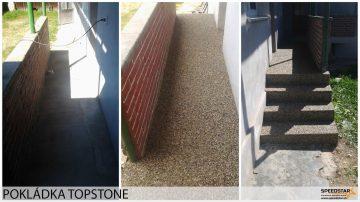 Pokládka TOPSTONE - Stavebná firma Brezno