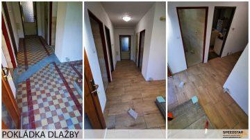 Dlažba - Stavebná firma Brezno
