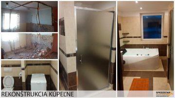 Kúpeľna - Stavebná firma Brezno