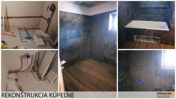 Oprava kúpeľne - Stavebná firma Brezno